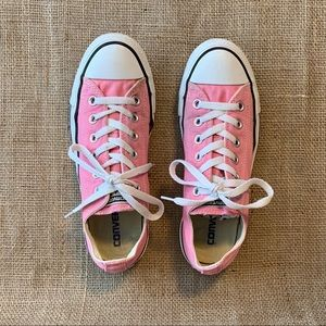 Converse All Star, Women's Pink Sneakers Size 8